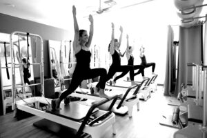 form and movement pilates reformer class