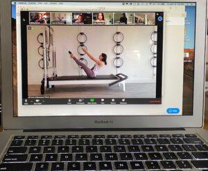 virtual class online pilates